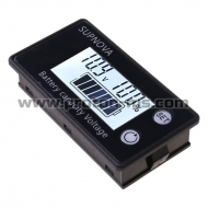 Дигитален Панел Волтметър DC 8V-100VLead Acid Lithium LiFePO4 Car Motorcycle Voltmeter Voltage Gauge 12V 24V 48V 72V