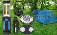 Strong Camping Lantern Powerful Spotlight CREE LED Magnets Hook