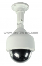 Dummy Speed Dome Camera, Water Proof LED Flashing