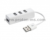 4-Port USB 2.0 Hub HV-H18