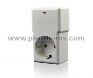 High and low voltage protection combined with lightning protection with automatic switch WP 230 W
