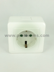 Bipolar Contact with Protection 16A 250V