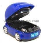 AYJ-SA168 Cute Car Shaped Activated Carbon Filter Cigarette Smokeless Ashtray