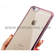 Transparent Silicone Back for iPhone 6 MISKI0573