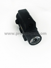GOMU 2 in 1 Tactical Flashlight and Green Laser Light Sight