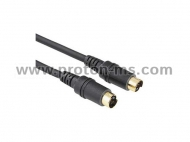 S-Video Plug - S-Video Plug Cable, 1m.
