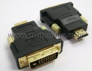 Конектор HDMI/М-DVI/М / M/F DVI Adapter HDMI M/F Connector HDMI to DVI-D Adapter