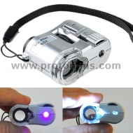 Мини Лупа 60X Led UV Microscope 9595 LED