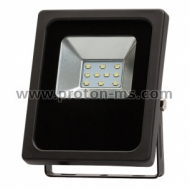 Ultralux LED Floodlight IP65 90-260V 120° 10W SMD 2835