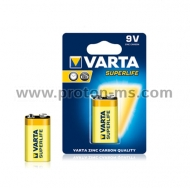 Varta Superlife Zinc Battery R22 9V, 1 pc.