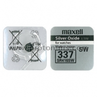 Button Battery Silver MAXELL SR-416 SW /337/1.55V