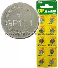 Alkaline Battery 1.5 V, LR55 /191, 1pc.