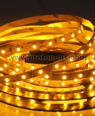 SMD 3528 LED Flexible Strip, yellow, 1m, 4.8W/m, 12V DC, 60 LEDs/M