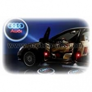Ghost Shadow Light, LED Logo Badge Audi