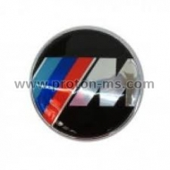 Emblem M Power BMW, 7.3 x 7.3