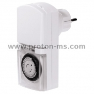 Daily Timer Outdoor HAMA Mini 121953, White