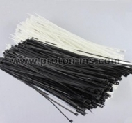 Cable Ties 2.5mm x 200mm, 100pcs, Black 617851