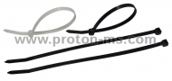 Cable Ties 2.5mm x 100mm, 150pcs., Black