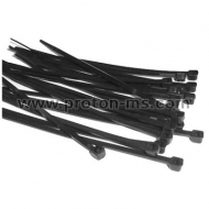 Cable Ties 2.5mm x 100mm, 100pcs., Black 617848