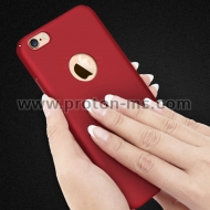 Луксозен Твърд Кейс Luxury Phone Case For iPhone 7 /7S Ultra Thin Slim Cover червен