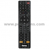 Universal 4in1 Remote Control HAMA 12306, Black