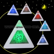 Glowing LED Color Change Digital Alarm Clockv