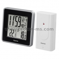 Electronic Weather Station HAMA EWS Intro 176924, Silver