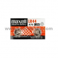 Button Micro alkaline battery LR44 / AG13 / 2 pcs. 1,55V pack MAXELL