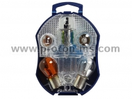 Spare kit Osram H1 bulbs 12V