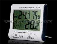Digital Thermometer & Hygrometer DC103