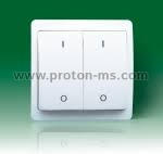 Wireless Wall Switch (wall mounted transmitter) Rising Sun