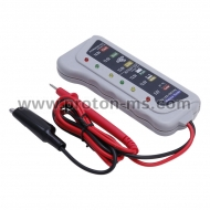 Quality Battery Tester Car Battery / Alternator Monitor Device 12V LED Display