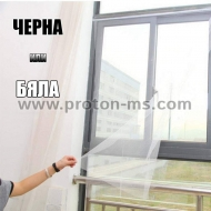 Mosquito Net for Door 120 x 220 cm, White