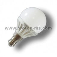 LED Bulb 3W G45 6400K E14 7201 White Light