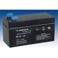 Sunlight SPA Accumulator Battery 12V 1.3 Ah SP 12-1.3