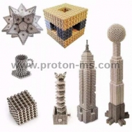 Magnetic Balls (spheres), Neo Cube, Zen Magnets, Neo Spheres, 216 pcs., 8 Colors, 5mm