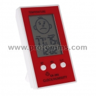 LCD Digital Thermometer Hygrometer CX-201
