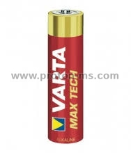 VARTA Max Tech Alkaline Battery LR6 AA 1.5V, 1pc.