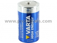 Varta Alkaline Battery High Energy Alkaline LR20, D, 1pc.