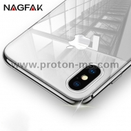 Прозрачен  Кейс за iPhone X Ultra Thin Soft Silicon, Crystal Clear