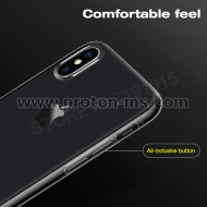 iPhone X Ultra Thin Soft Silicon, Crystal Clear