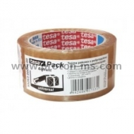 PP Solvent Tesa Universal Packaging Tape, Transparent 66m x 48mm