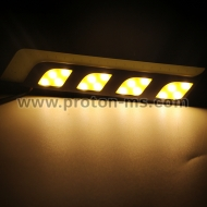 Car LED Daylight Lights, COB LED Car DRL LED 12VDC White 2pcs.