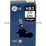 Halogen Bulb General Electric HB3 / 12V / 60W