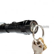Telescopic LED torch with flexible arm and magnet