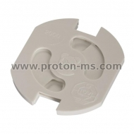 Safety Covers for Sockets with Earth Contact, 5 pieces