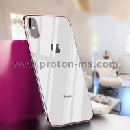 iPhone X Ultra Thin Soft Silicon, Rose Gold