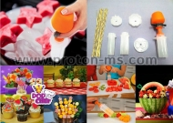 Pop Chef 6 Shapes Food Decorator and Cutter