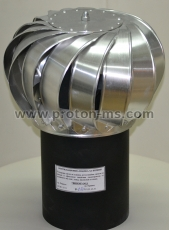 Ventilation chimney cap F - 130 mm