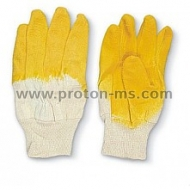 Working Gloves - Cotton and Latex coating
